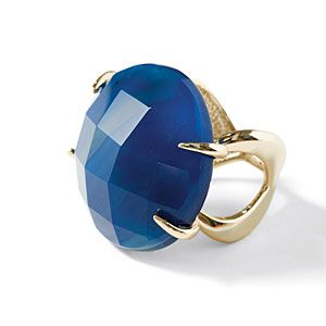 Cocktail Ring in 11 Colors | Add a splash of school color to your celebratory fist-pumps and high-fives