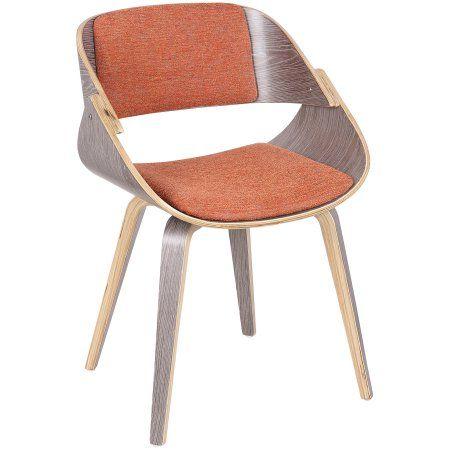 Awe Inspiring Fortunato Mid Century Modern Dining Accent Chair In Light Machost Co Dining Chair Design Ideas Machostcouk