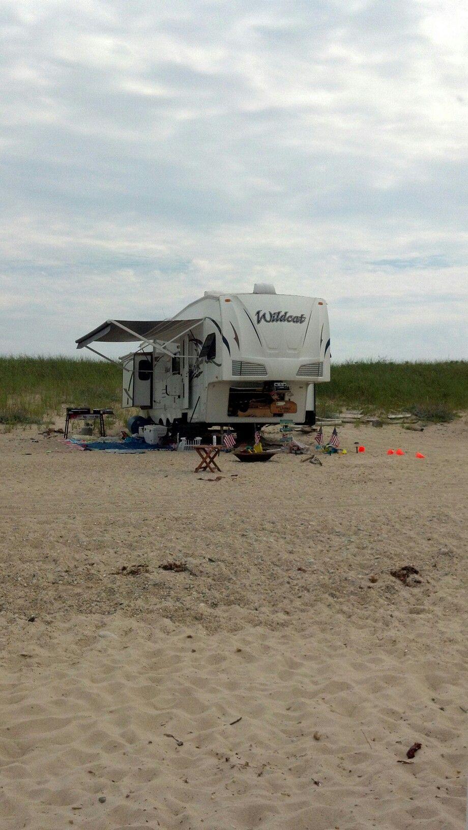 Outer Beach Montauk Montauk Beach Camping Glamping Beautiful Beaches