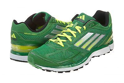 reputable site 5bb91 80b80 ADIDAS ADIZERO SONIC 3 MENS G47182 Green Running Shoes Athletic Sneakers  Size 8
