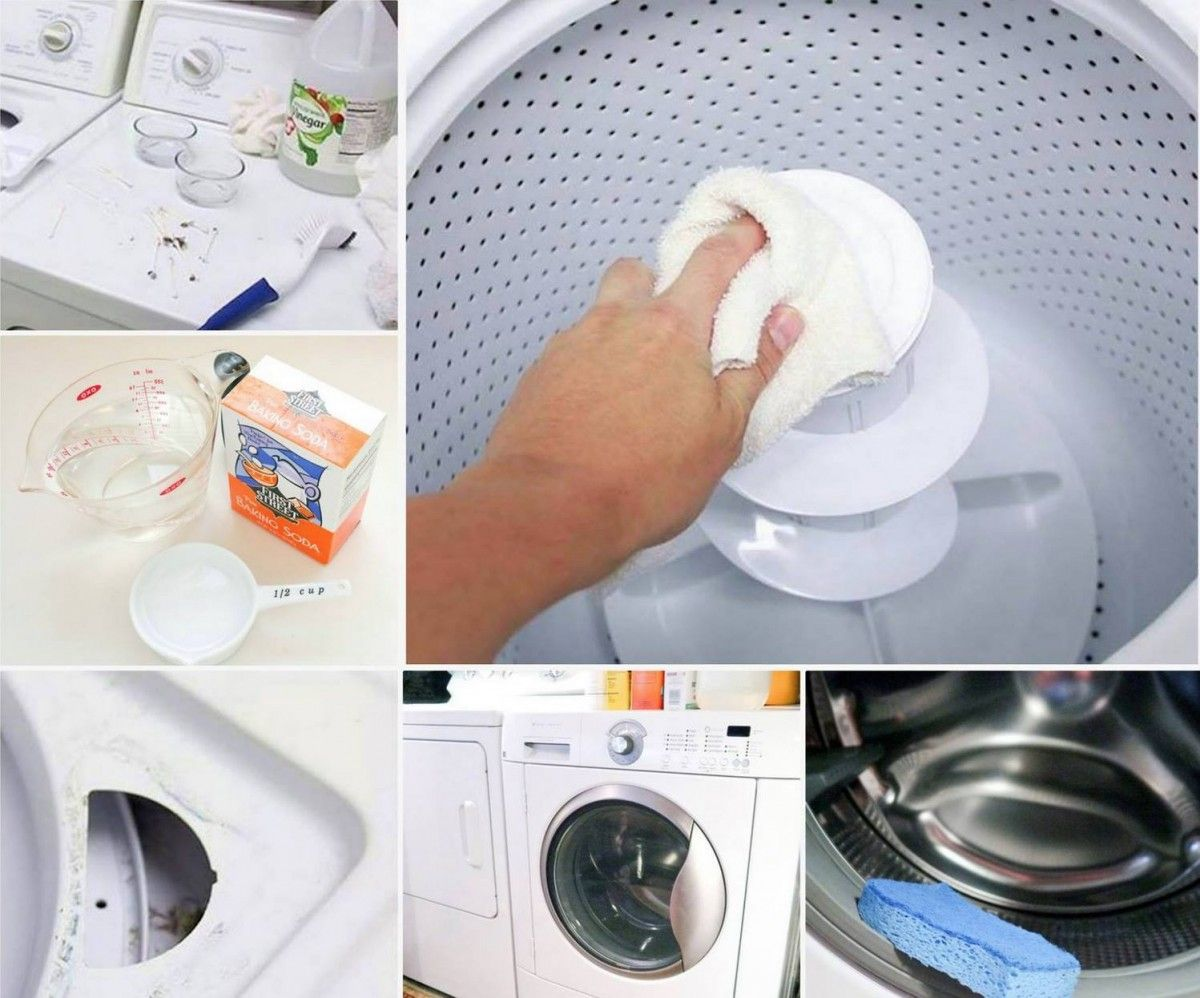 How to clean your washing machine | cleaning | Clean ...