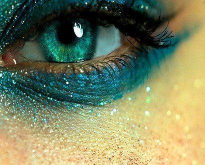 Eyelash Brushes by xmisslizx.deviantart.com | Teal eyes