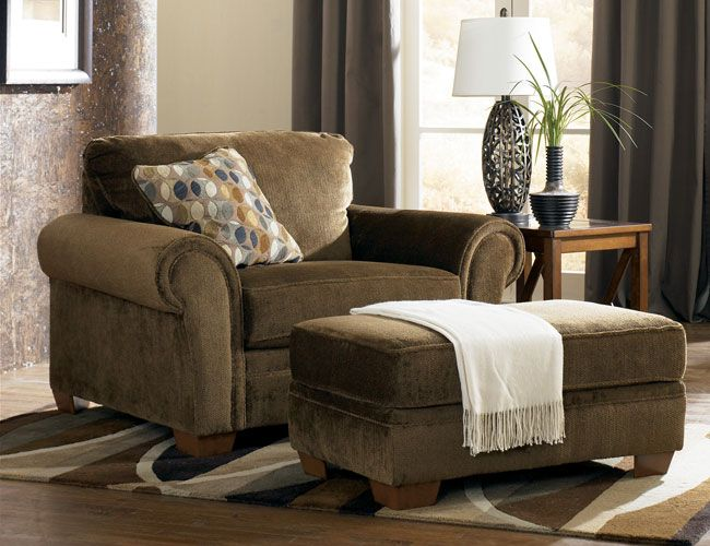 Oversized Chair And Ottoman Oversized Chair And Ottoman