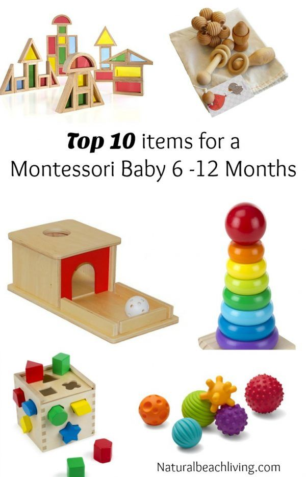 Top Ten items for a Montessori Baby 6 months to 1 year in ...