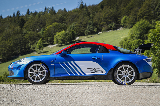 Alpine A110 Rally Car Hiconsumption Alpine All Electric Cars Fuel Efficient Cars