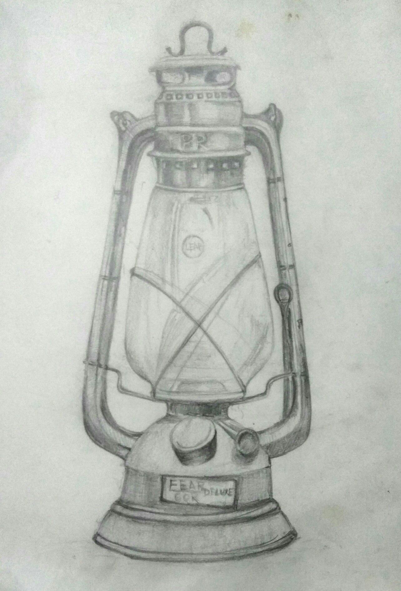 Lamp Pencil Sketch