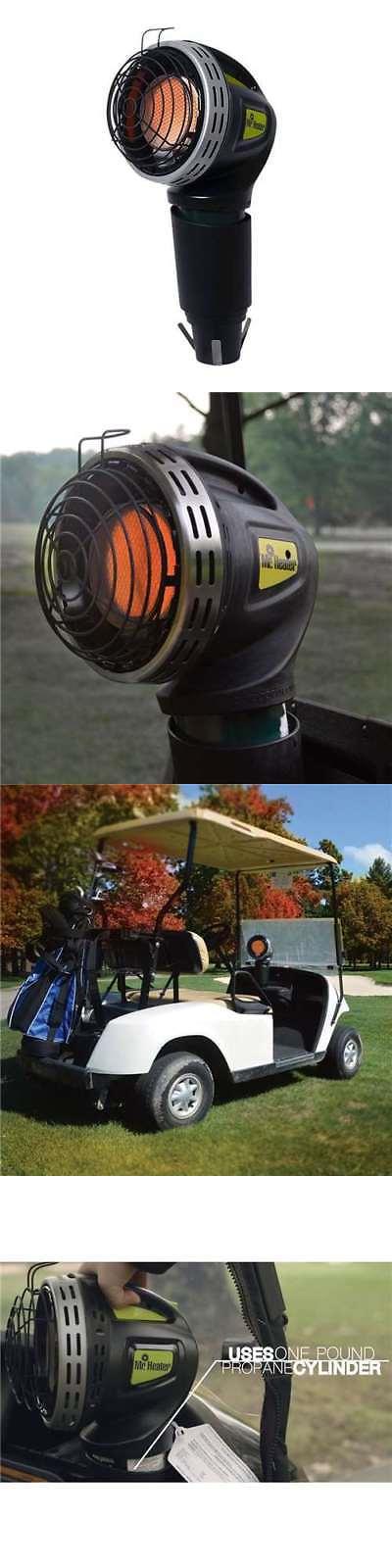 Push-Pull Golf Cart Add-ons 72671: Mr. Heater 4000 Btu Propane ... on golf caddy cup holder, golf bag cup holder, golf pull cart tires, clicgear cup holder, golf pull cart seat, bag boy push cart cup holder,