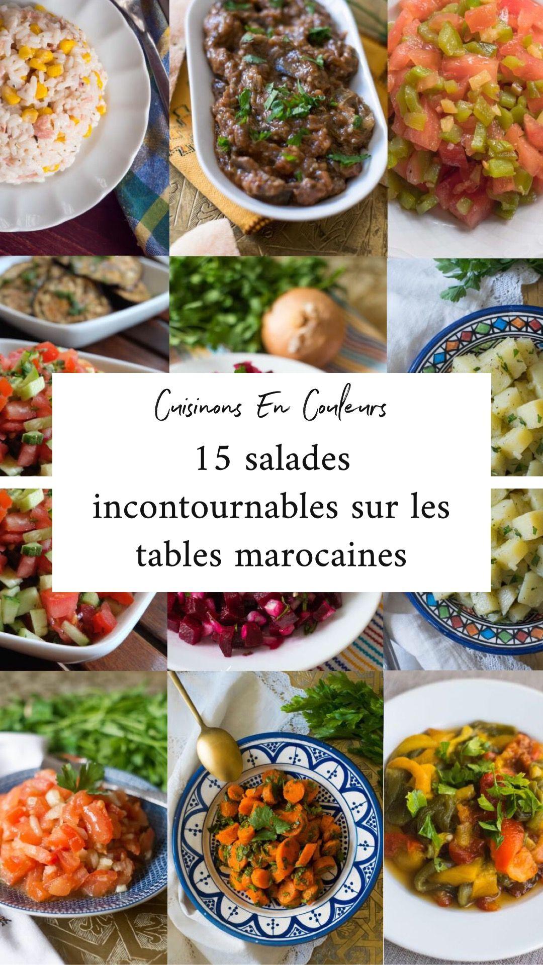 Top 15 des salades marocaines