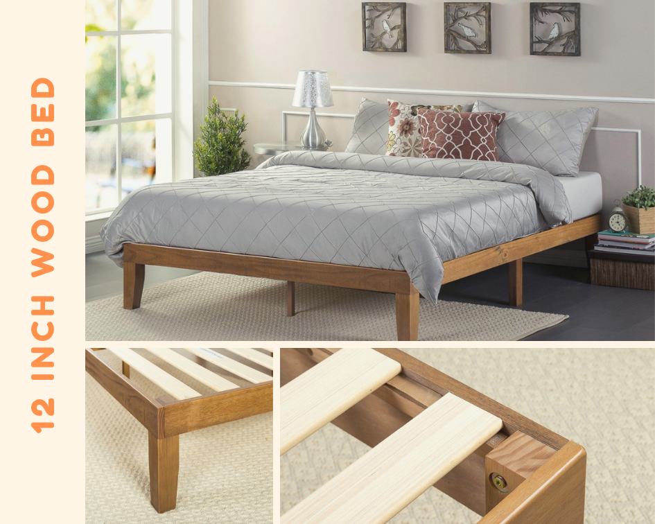 12 Inch Wood Platform Bed Platform Bed Platform Bed Designs Wood Platform Bed