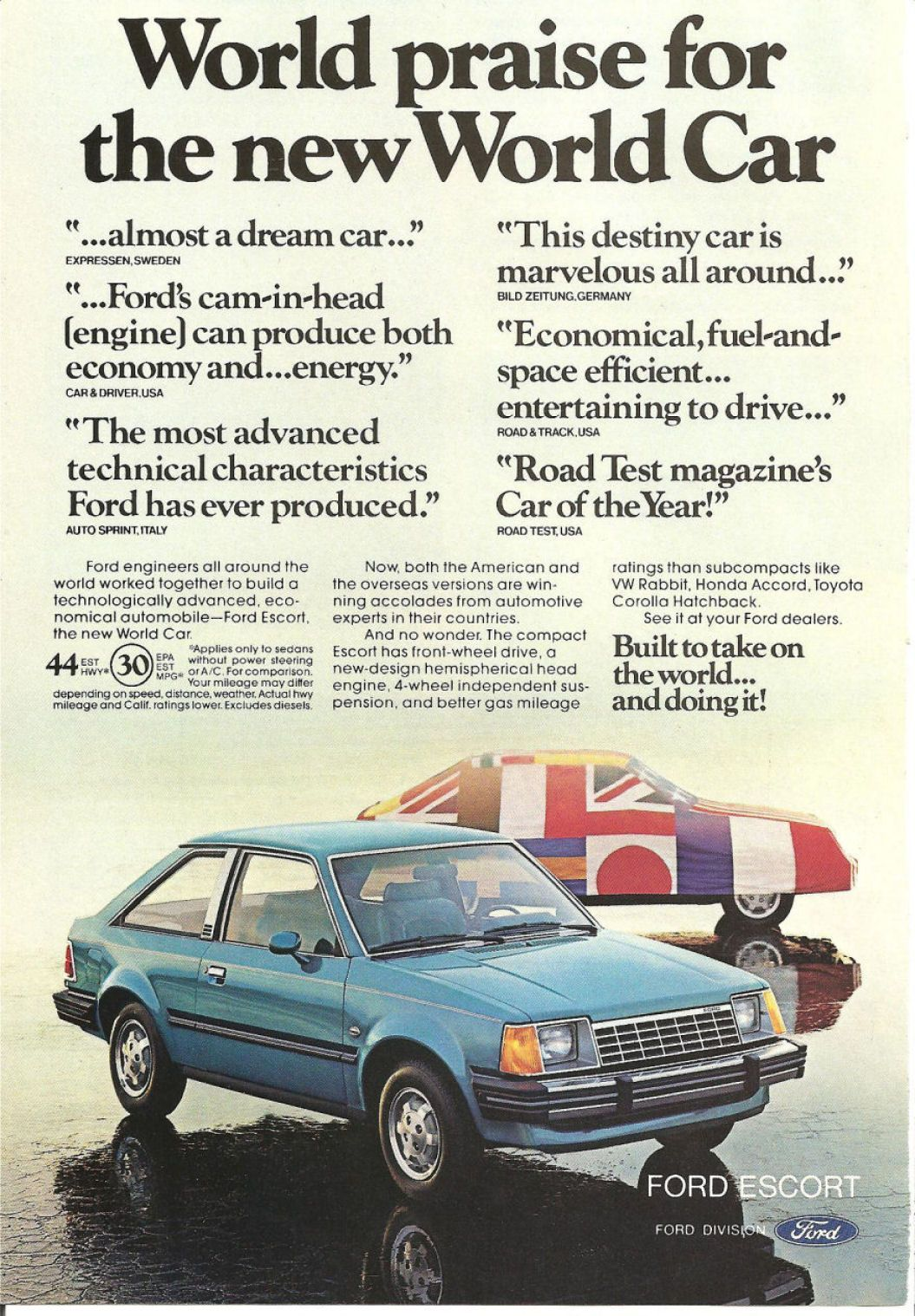 1981 Ford Escort - My first car | Auto Ads of Yester-Year ...