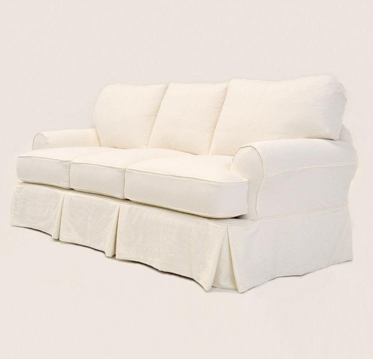 Quatrine Custom Furniture Capri Slipcovered Sofa