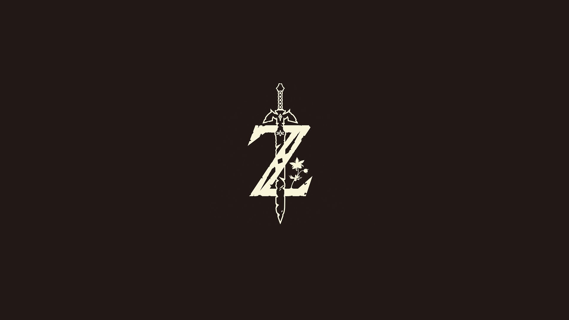 Legend of Zelda Breath of the Wild logo • /r/wallpapers