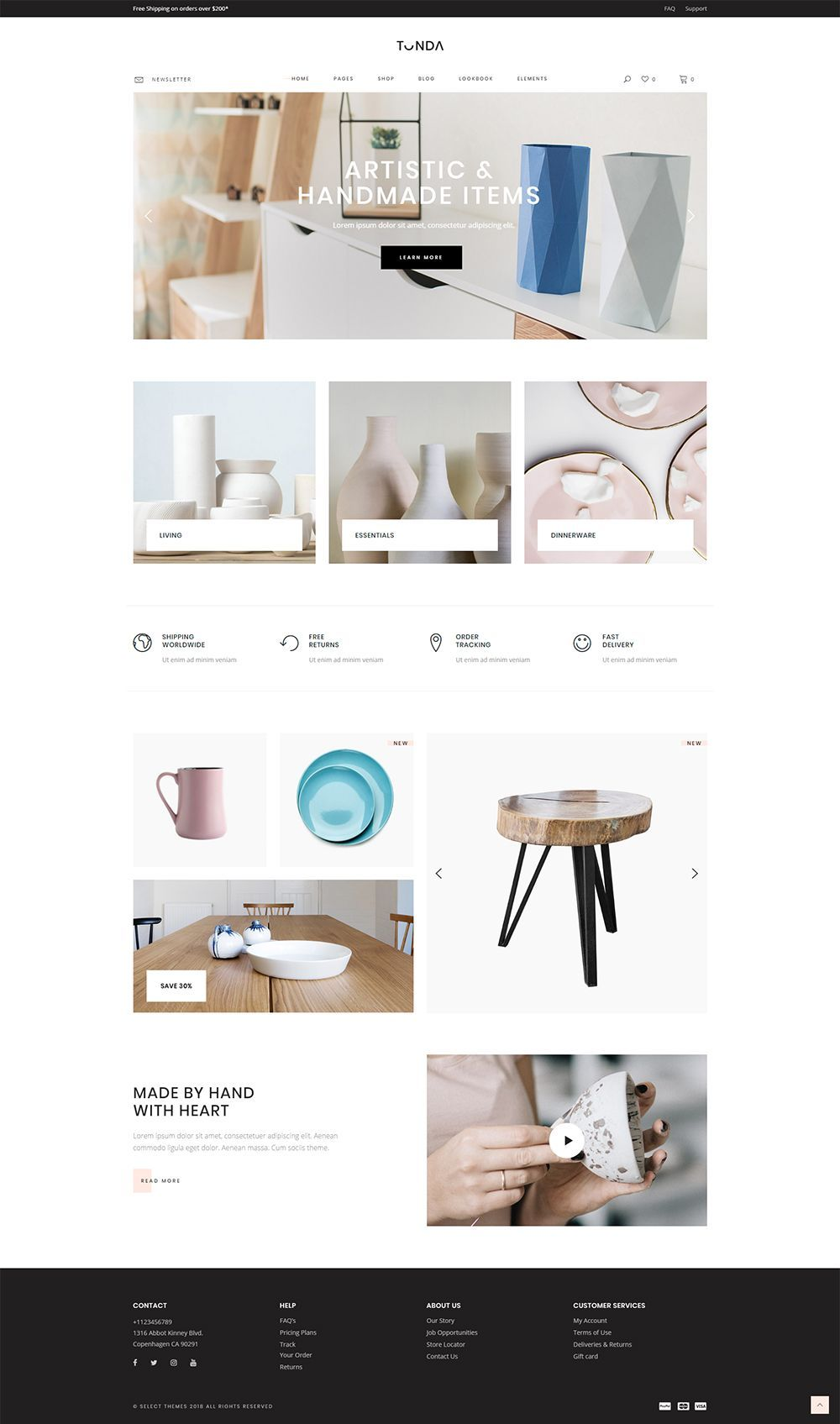 Tonda Elegant Shop Theme In 2020 Latest Web Design Trends Web Design Trends Woocommerce Themes