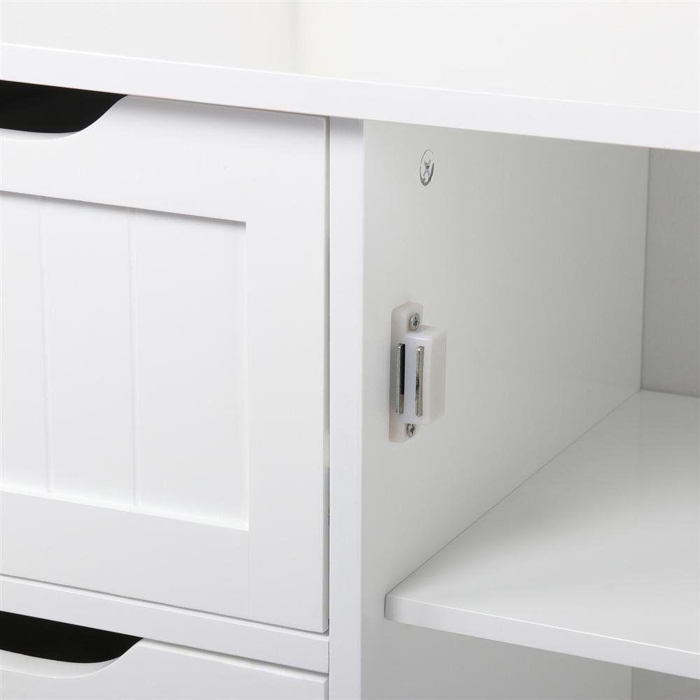 34+ Yaheetech wooden bathroom floor cabinet ideas