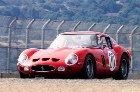 1963 Ferrari 250 GTO at the 2014 Rolex Monterey Motorsports Reunion.