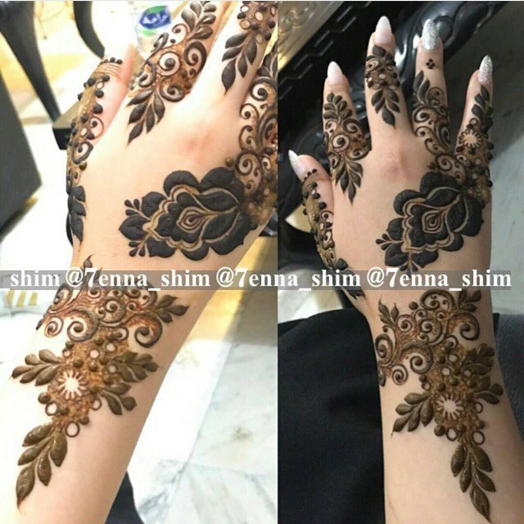 Pin By Asfiya Razzaque On Henna Henna Traditional Tattoo Black And Grey Henna Hand Tattoo