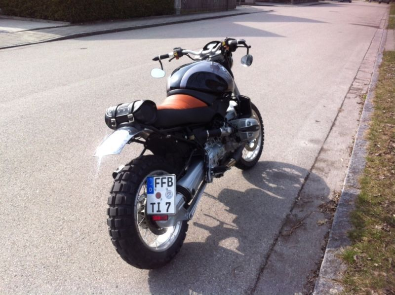 bmw r850r scrambler in bayern maisach ebay. Black Bedroom Furniture Sets. Home Design Ideas