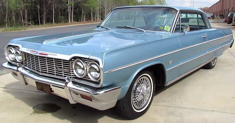 1964 Chevrolet Impala Sport Coupe Video Walkaround Classic Cars Chevy Chevrolet Impala Classic Cars