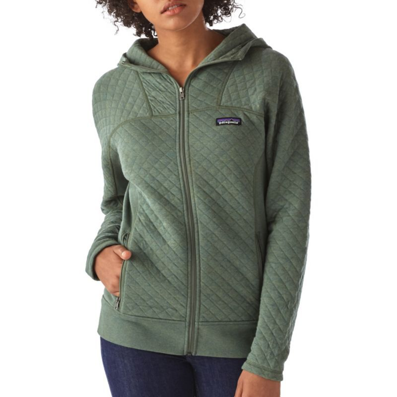 Patagonia Women S Cotton Quilt Full Zip Hoodie Size