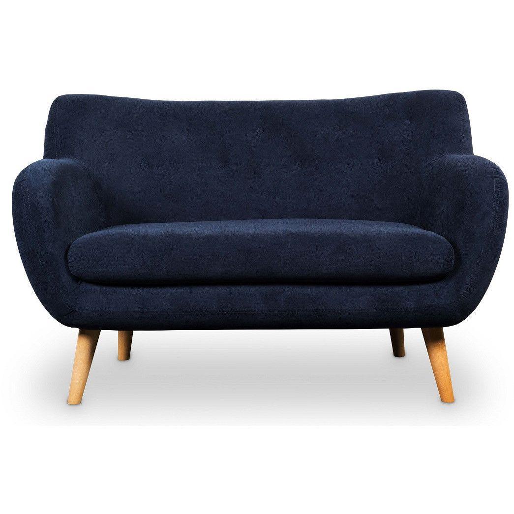 NOA 2er Sofa marine - Interio Online