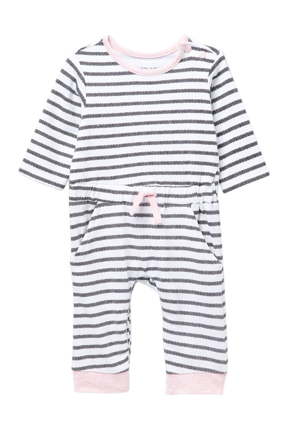 FOCUS | Panda G Coverall & Bib Set (Baby Girls #nordstromrack