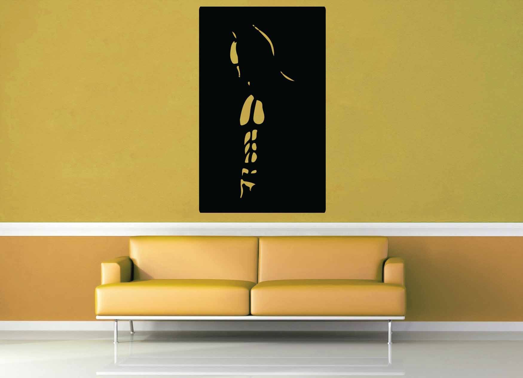 Batman Silhouette - Wall Decal - No 1 | Wall decals, Silhouettes and ...