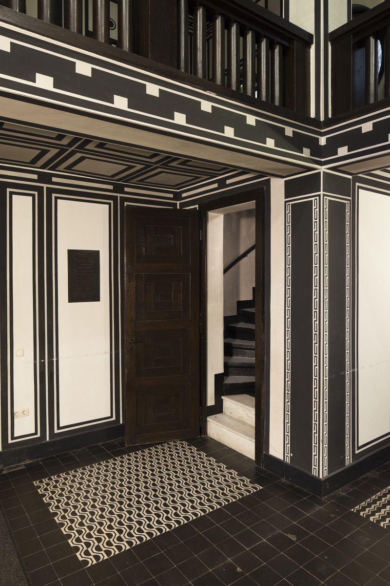 Peter Behrens - interior detail, Delstern funeral home ...