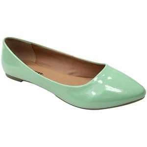 Mint Green Flats from City Classified, SIze 9. Vegan. New, Never worn. I tried them around the house, but I just didn't like the way they looked on me. Retails for $36