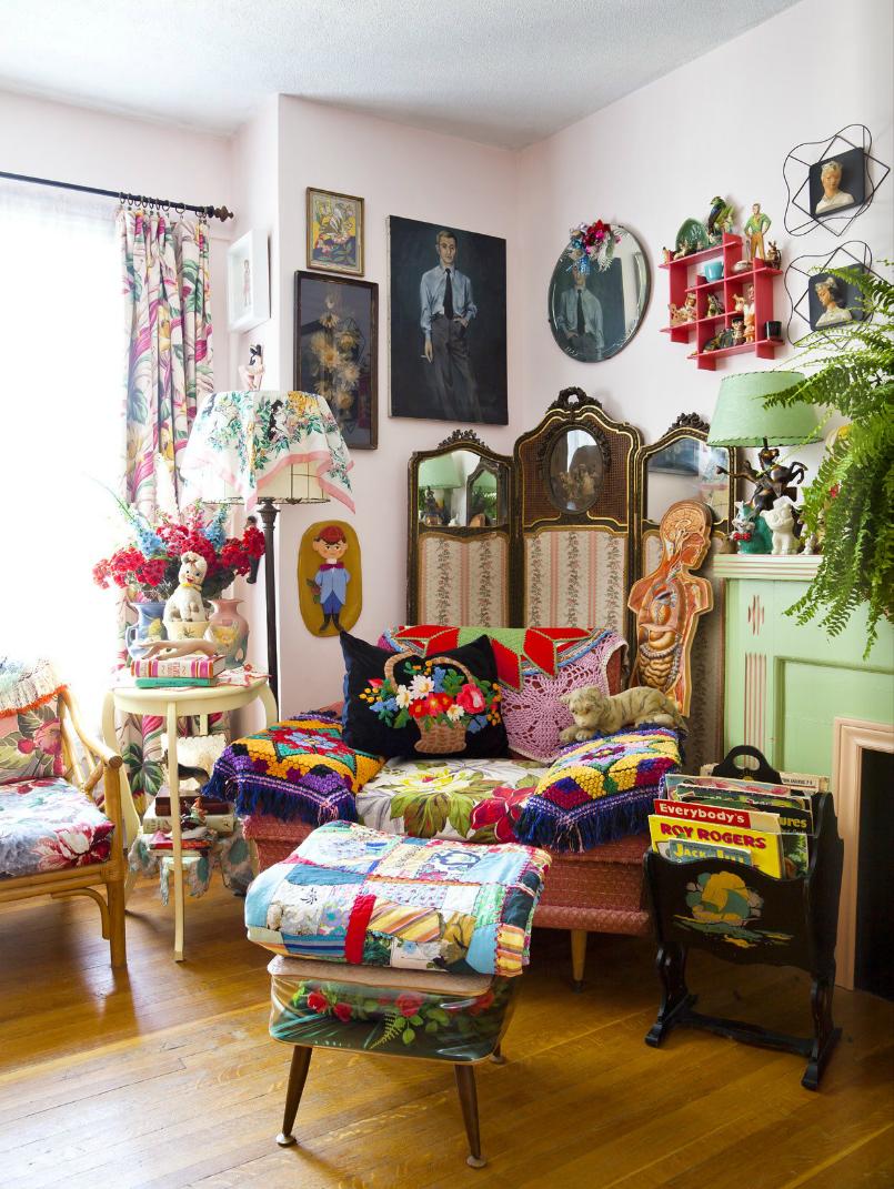 26 Bohemian Living Room Ideas: John's Living Room Covet Garden Issue 26, Sept. 2012