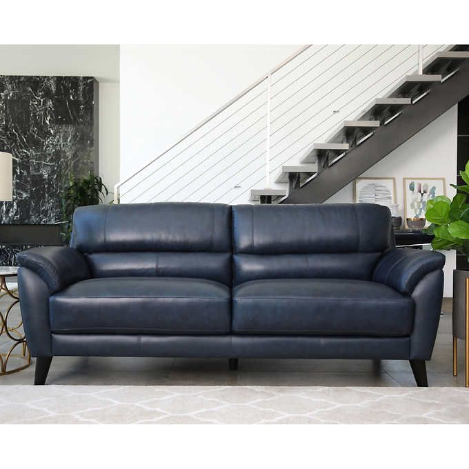 Sovana Top Grain Leather Sofa With Images Top Grain Leather Sofa Living Room Sofa Design Leather Living Room Set
