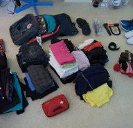 Packing for a round-the-world trip