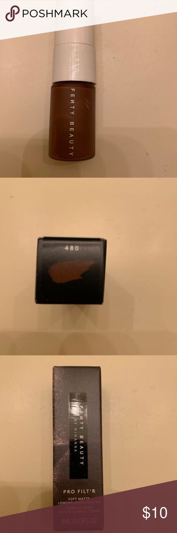 NEU Fenty Magnificence Professional Filtr Basis 480 NEU Fenty Magnificence Professional Filtr Delicate