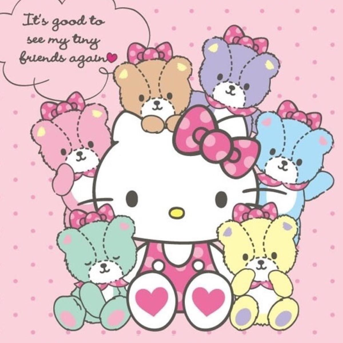 可愛すぎる ハローキティ Hello Kitty スマホ壁紙 サンリオ