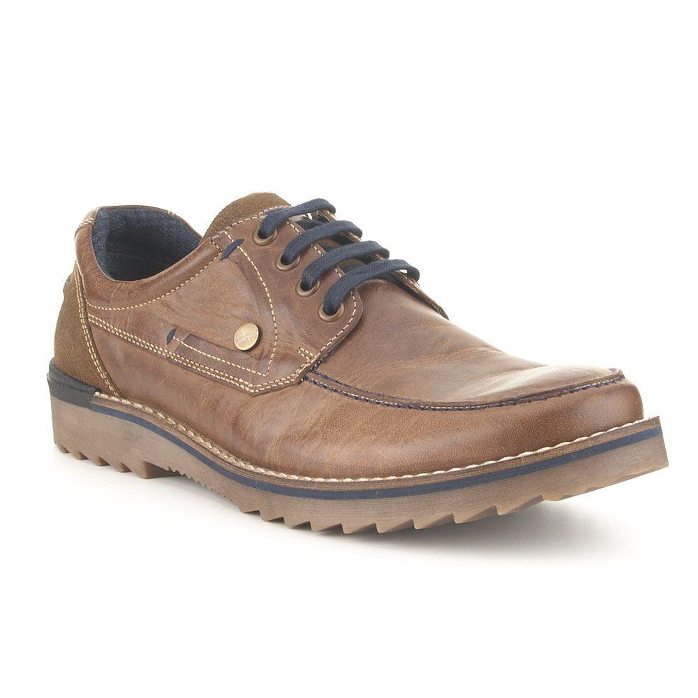 Zapatos marrones casual Trappeur NzKCJg4