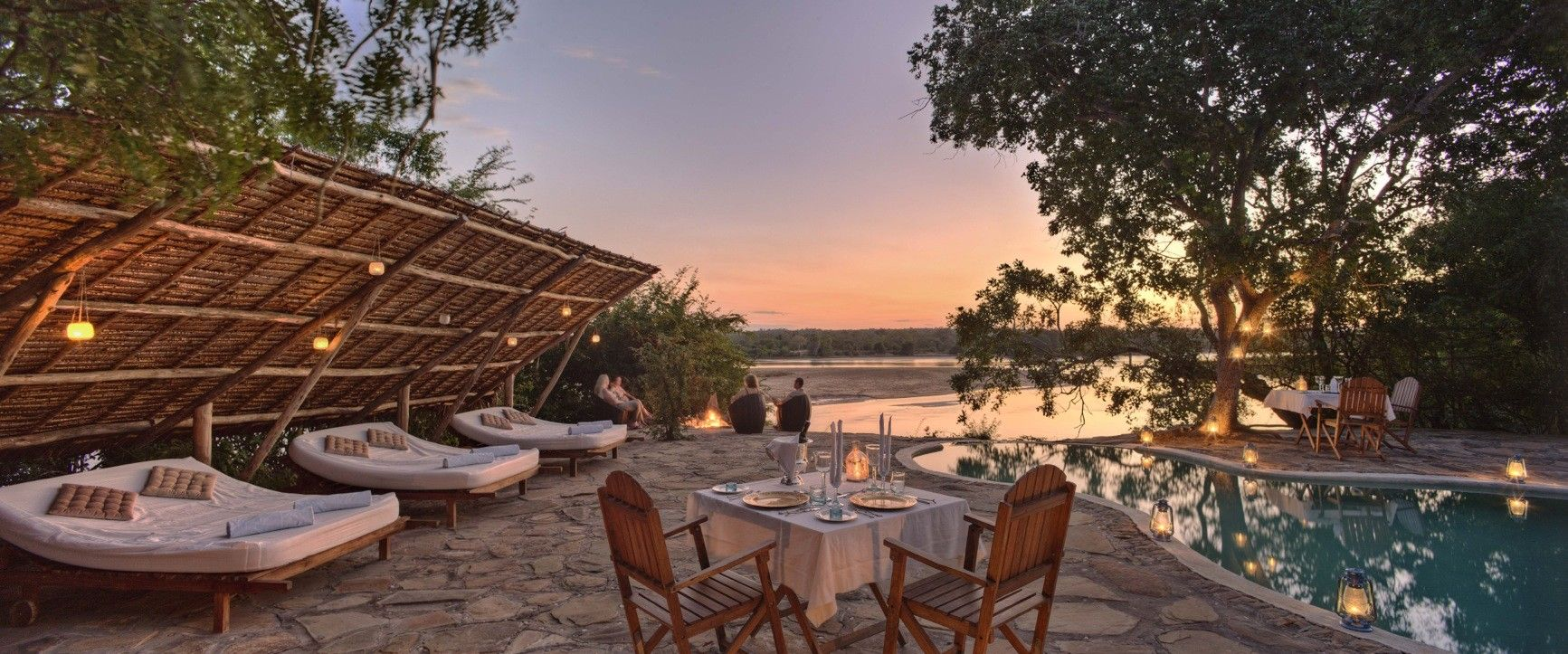 The Retreat is located inside Tanzania's Selous Game