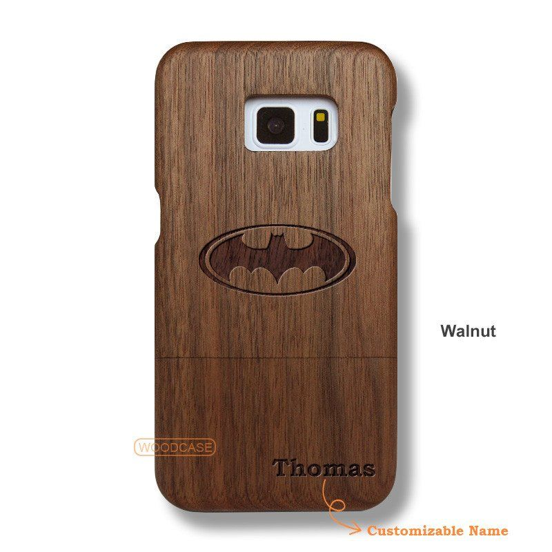 Batman Galaxy S7 Case - Custom Galaxy S7 Solid Total Wood Case - SDTCE0013