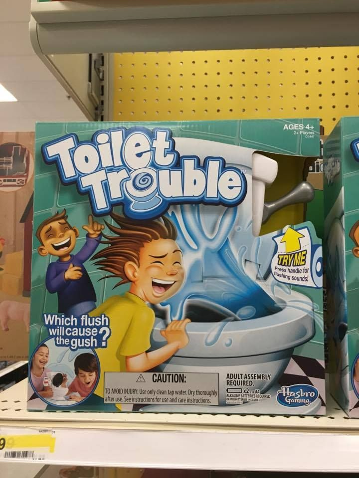 Toilet Trouble Game At Target Morning Coffee Deals Giggles