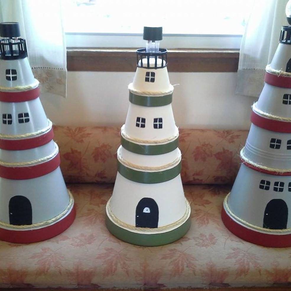 Clay Pot Lighthouse, Clay