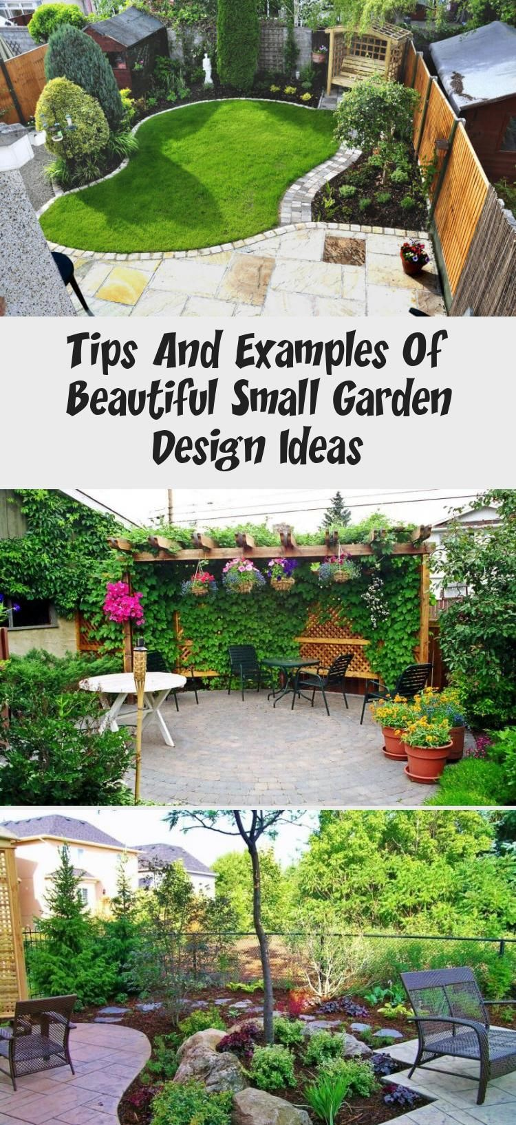 Tips And Examples Of Beautiful Small Garden Design Ideas ...
