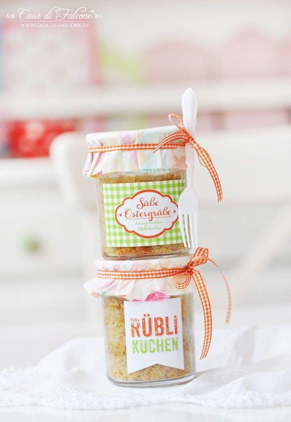 Rüblikuchen Mit Frischkäsetopping Geschenke Aus Der Küche