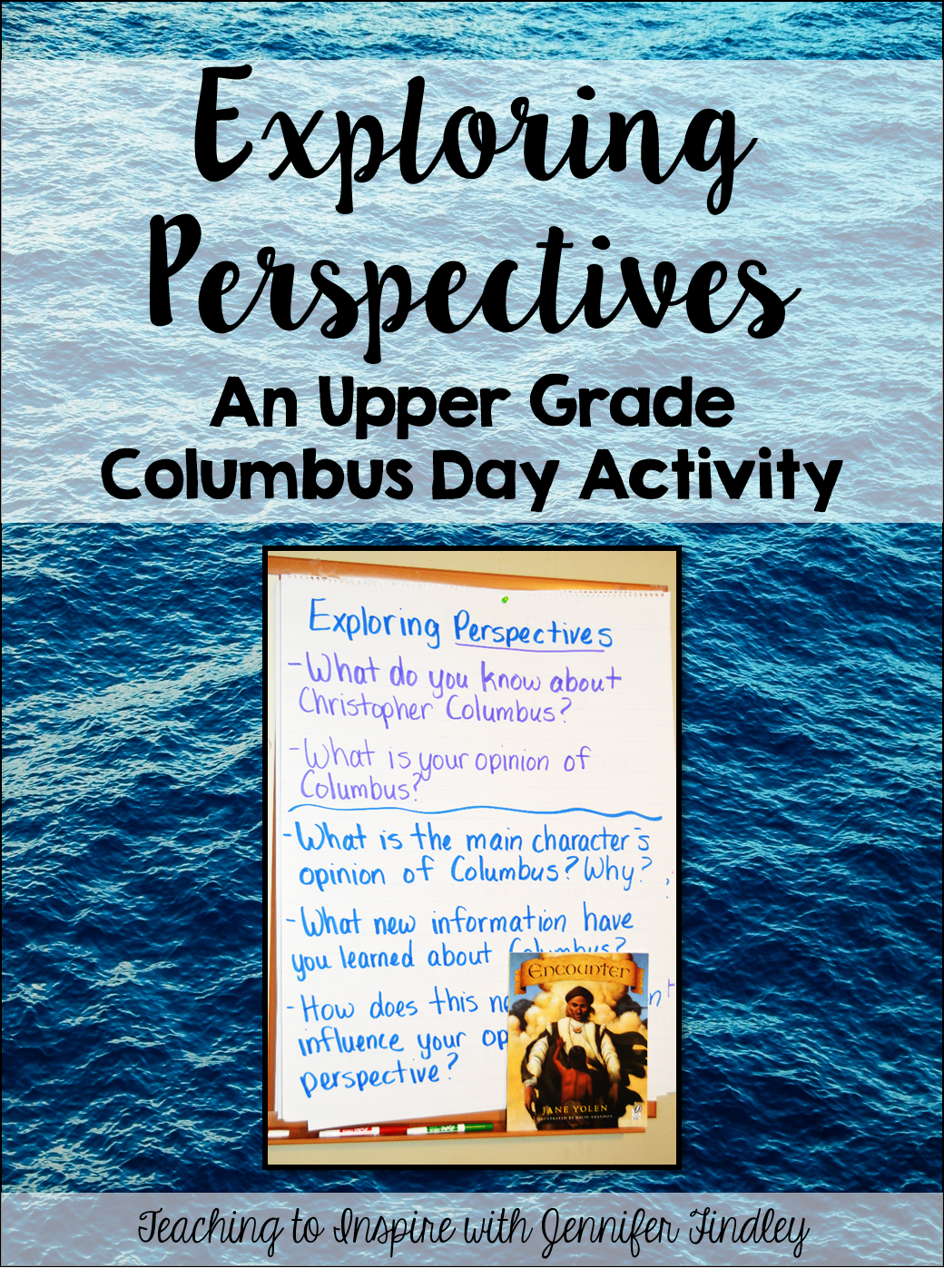 Columbus Day Activity For Upper Grades