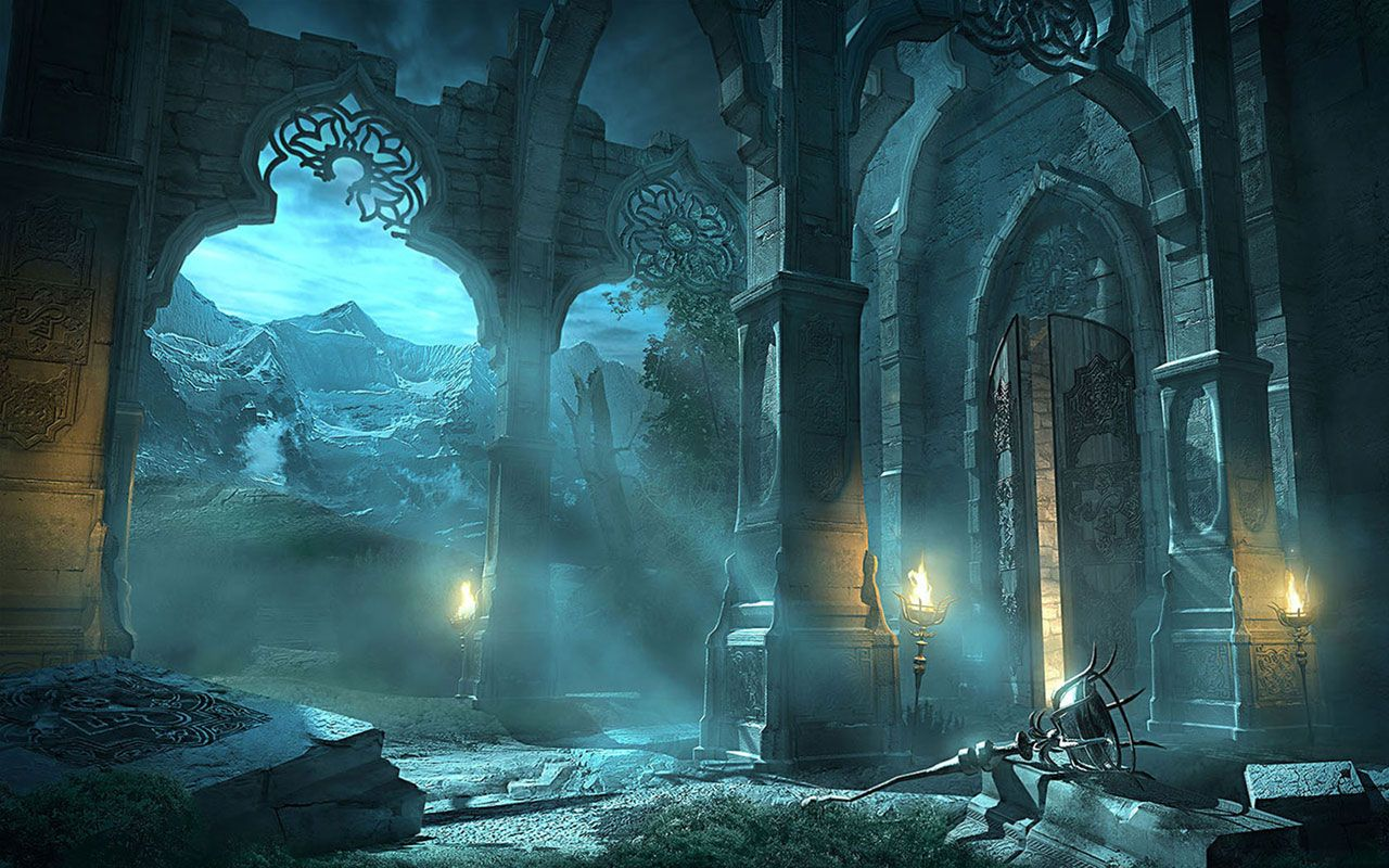 Game scene illustration wallpaper 2 Wallpapers (With