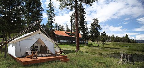 Paws Up Resort--Greenough Montana. Luxury tents and cabins kid friendly & Paws Up Resort--Greenough Montana. Luxury tents and cabins kid ...