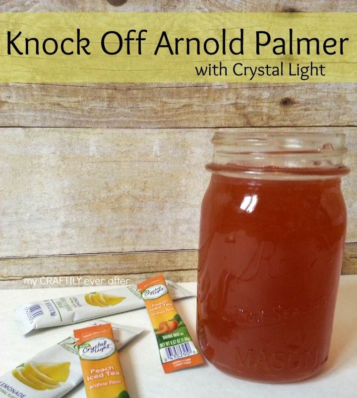 the BEST arnold palmer made easy with Crystal Light #shop #platinumpoints