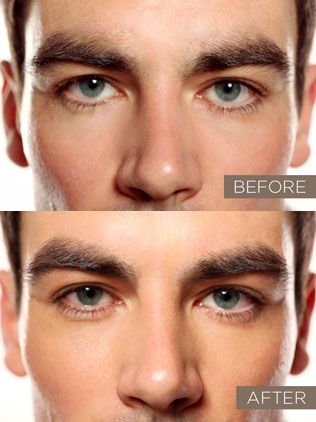 men's eyebrows before after - Google Search   Guys ...