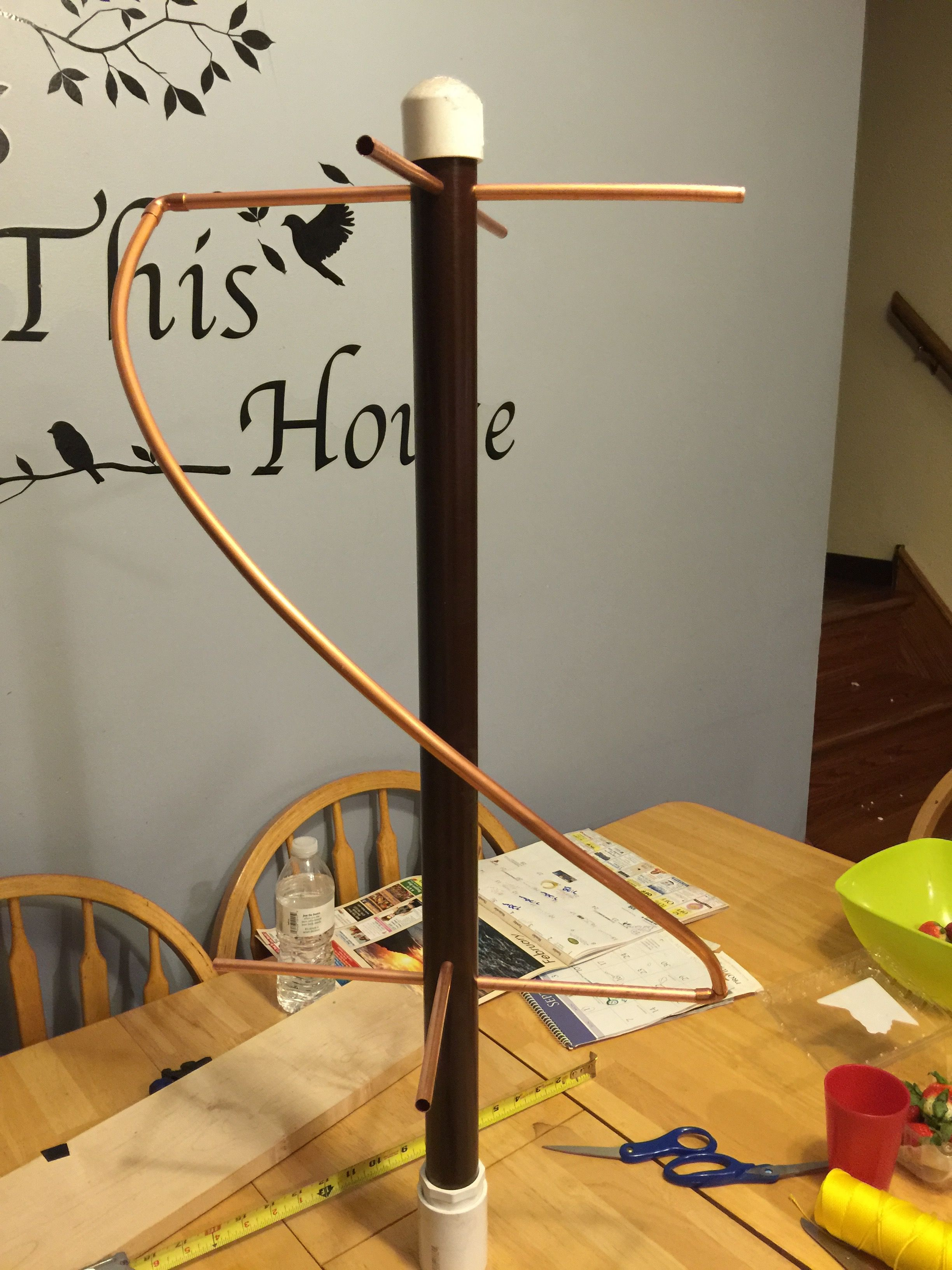How To Build A QFH (Quadrifilar Helix Antenna) to Download Images