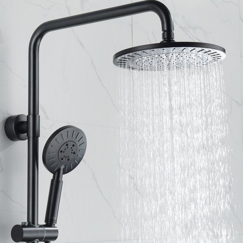 Multi Function Dual Shower Head In 2020 Ceiling Shower Head Shower Heads Dual Shower Heads