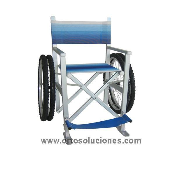 Sillas de Ruedas Sillas tiempo libre  Silla de ruedas para playa - sillas de playa
