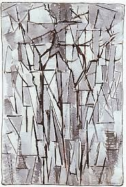 Image result for piet mondrian paintings tree