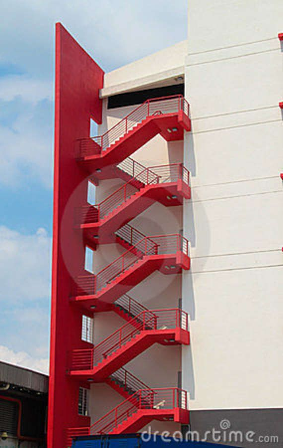 for Escaleras de emergencia